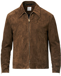 Paul Smith Suede Jacket Brown