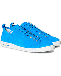 PS Paul Smith Miyata Suede Sneaker Cobalt Blue