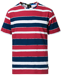 PS Paul Smith Striped Tee Navy/Pink
