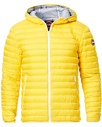 Colmar Lightweight Down Hooded Jacket Yellow