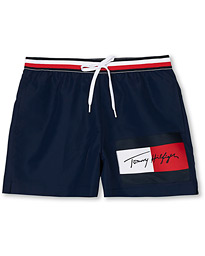 Tommy Hilfiger Tommy Logo Swimshorts Pitch Blue