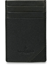 Morris Vinnie Leather Card Wallet Black