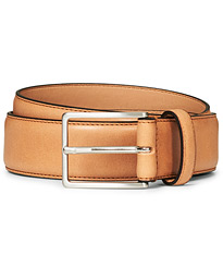 Morris Emile Leather Belt Brown