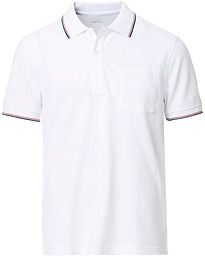 J.Crew Stretch Pique Double Tipped White