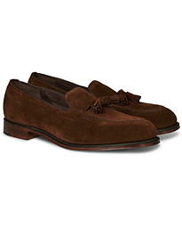 Loake 1880 Russell Tassel Loafer Polo Oiled Suede