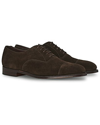 Aldwych Oxford Dark Brown Suede