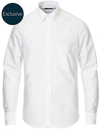 Slimline Oxford Shirt White