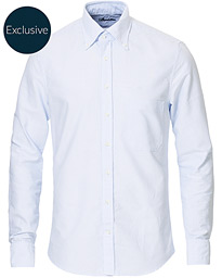 Slimline Oxford Shirt Blue/White