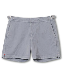 Orlebar Brown Bulldog Cotton Twill Shorts Granite