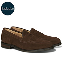 Loake 1880 Imperial 2 Penny Loafer Brown Suede