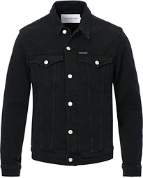Calvin Klein Jeans Foundation Slim Denim Jacket Washed Black