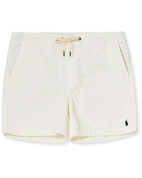 Prepster Drawstring Corduroy Shorts Warm White