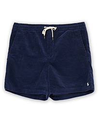Prepster Drawstring Corduroy Shorts Boathouse Navy