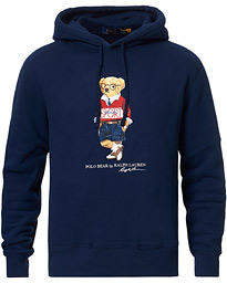 Polo Ralph Lauren Printed Sports Bear Hoodie Cruise Navy