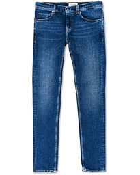 Tiger of Sweden Jeans Slim Grande Organic Cotton Stretch Jeans Light Blue