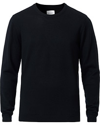 A Day's March Classic Merino Crew Neck Navy