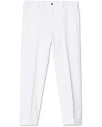 BOSS Perin Turn Up Trousers White