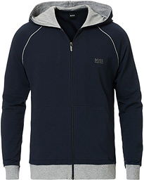 BOSS Loungewear Full-Zip Hoodie Navy
