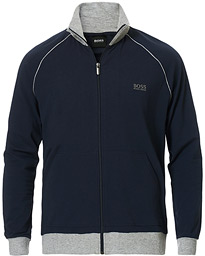 BOSS Loungewear Full-Zip Sweater Navy