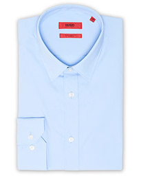 HUGO Elisha02 Slim Fit Shirt Light Blue