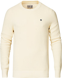 Morris Cardew O-neck Sweater Off white
