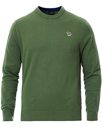 PS Paul Smith Zebra Crew Neck Green