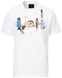 PS Paul Smith Regular Fit Compass Tee White
