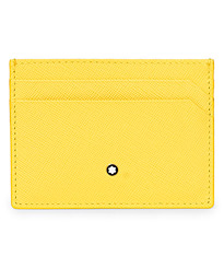 Sartorial Pocket Credit Card Holder 5cc Yellow