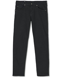 Jay Solid Stretch 5-Pocket Pants Black
