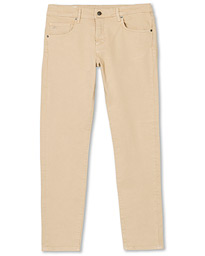 Jay Solid Stretch 5-Pocket Pants Oxford Tan