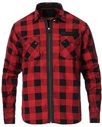 Replay Neymar JR Check Full Zip Overshirt Black/Red