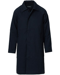 A Day's March Classic Cotton Twill Car Coat Navy