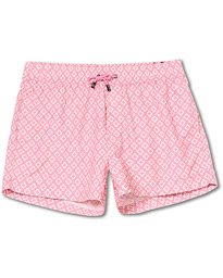 NIKBEN Studio Western Swim Shorts Pink/Off White