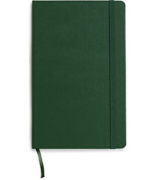 Moleskine Ruled Hard Notebook Large Myrtle Green