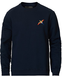Single Tori Bird Sweatshirt Navy