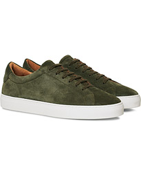 A Day's March Marching Sneaker Olive Suede