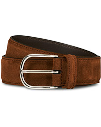 Suede 3,5 cm Belt Brown