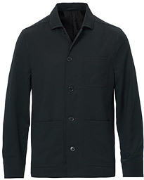 Louis Gabardine Jacket Dark Spruce