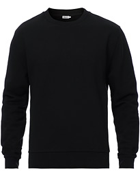 Gustaf Cotton Sweatshirt Black