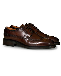 Flairville Brogue Derby Cognac Calf