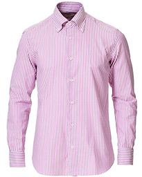 Soft Natural Stretch Oxford Shirt Pink/White
