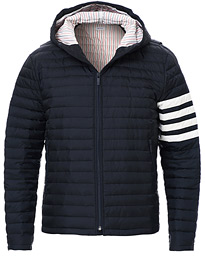 Thom Browne 4 Bar Quilted Down Jacket Navy