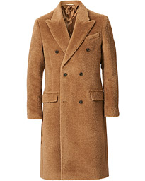 Coltron Woven Wool Coat Mink