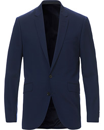 James Wool Suit Blazer Navy