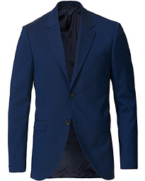 Jamonte Wool Suit Blazer Blue