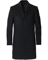 Cempsey Wool/Cashmere Coat Black