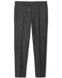 Tiger of Sweden Tordon Flannel Trousers Grey Melange