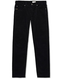 Rex Corduroy Trousers Black