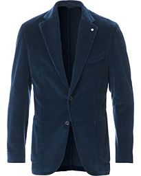 Jack Regular Fit Corduroy Blazer Blue