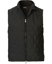 Oscar Jacobson Liner Quilted Waistcoat Green